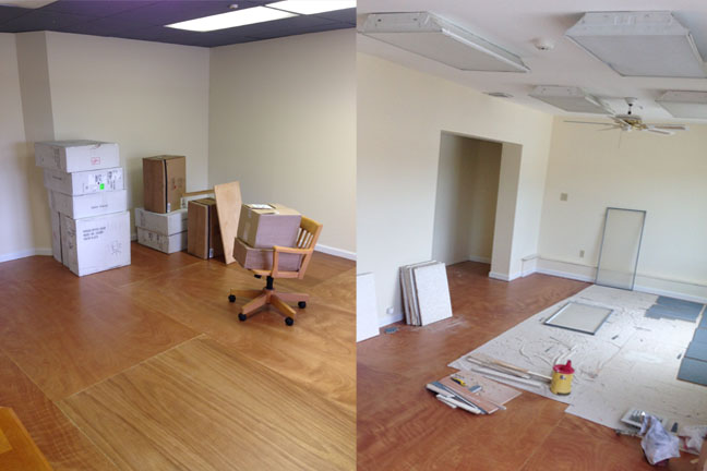 In the works: a maker space for inventors and engineers, and a classroom/conference space for teachers and collaborators.